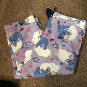 Adorable Eeyore pajama pants